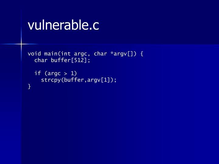vulnerable.c
