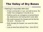 the valley of dry bones6