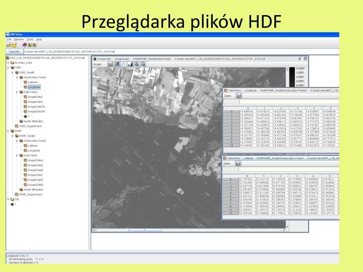 Przeglądarka plików HDF