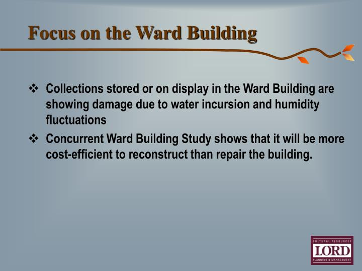 Focus on the Ward Building