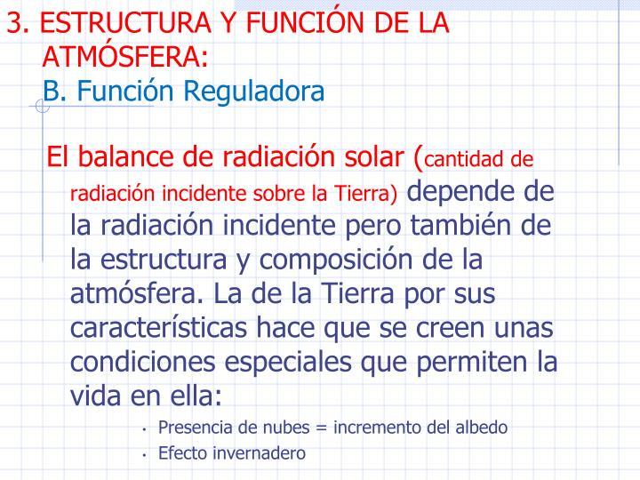 3. ESTRUCTURA Y FUNCIN DE LA ATMSFERA: