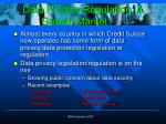 data privacy regulation a growth market