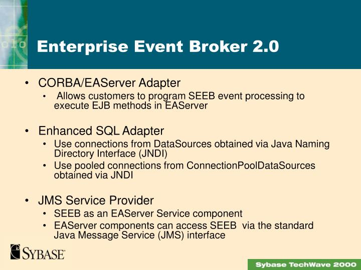 CORBA/EAServer Adapter