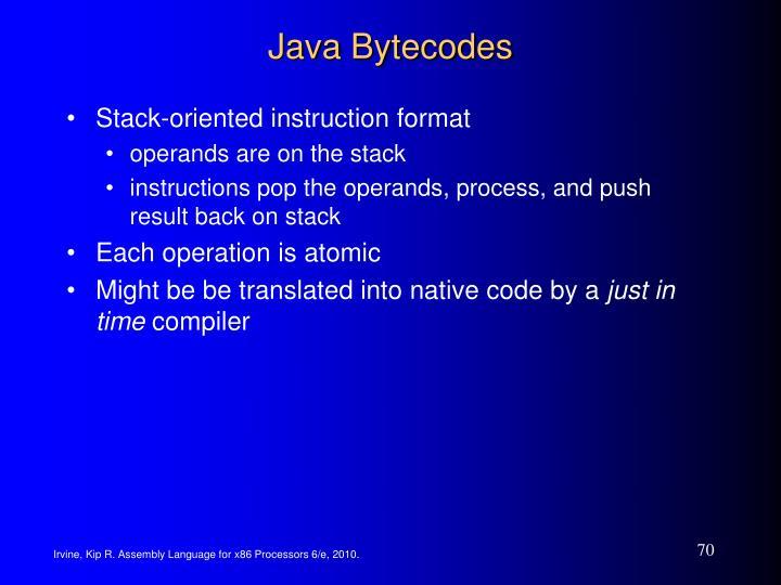 Java Bytecodes