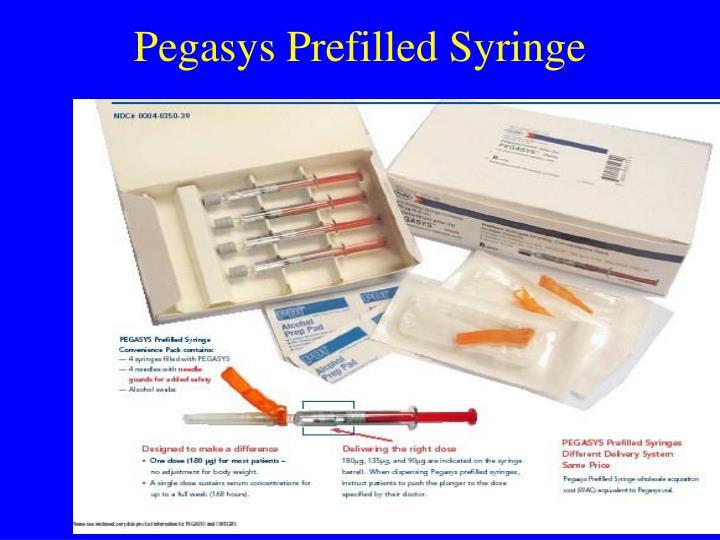 Pegasys Prefilled Syringe
