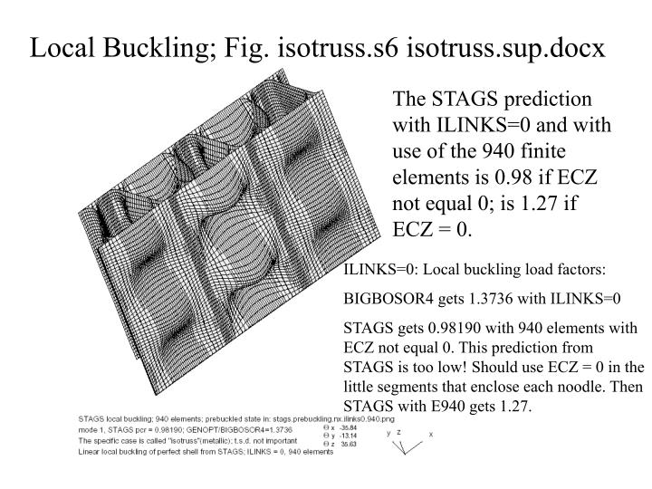 Local Buckling; Fig. isotruss.s6 isotruss.sup.docx