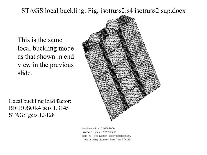 STAGS local buckling; Fig. isotruss2.s4 isotruss2.sup.docx