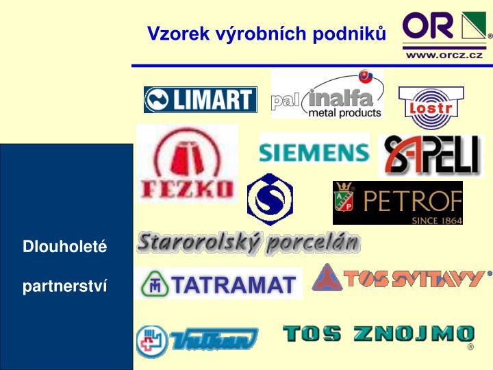 Vzorek výrobních podniků