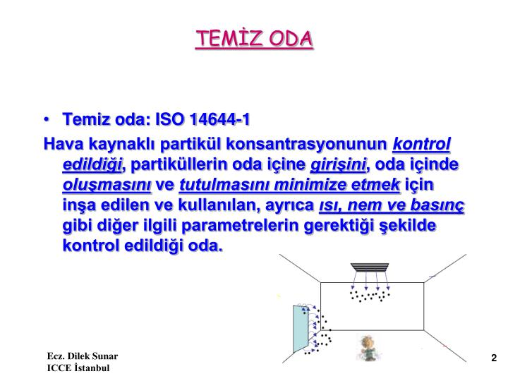 TEMİZ ODA