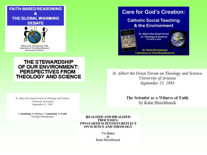 Caring for god s creation in the 21 st century
