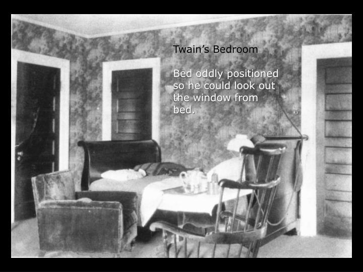 Twain's Bedroom