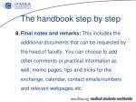 the handbook step by step6