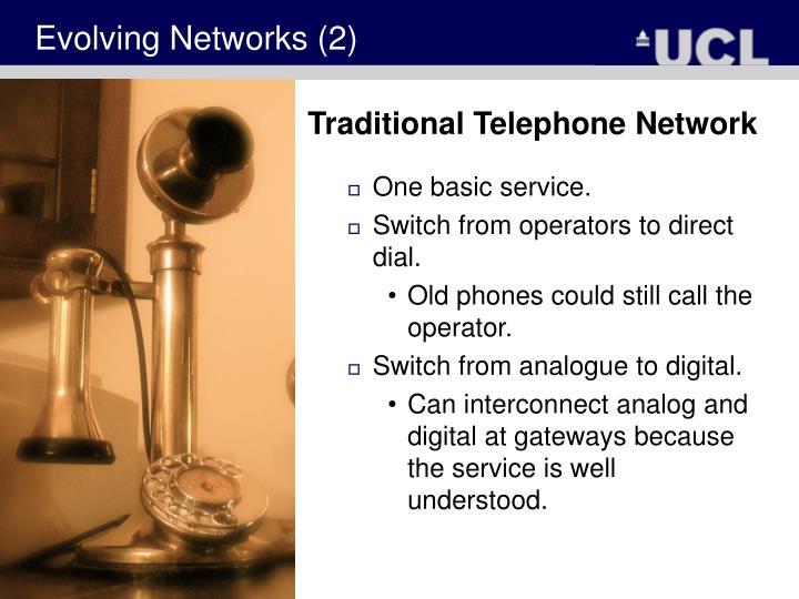 Evolving Networks (2)