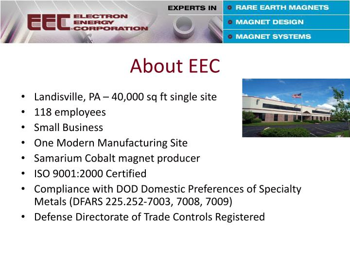 About EEC