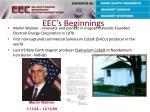 eec s beginnings