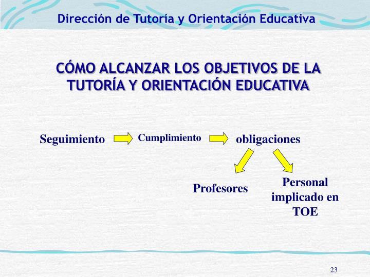 Dirección de Tutoría y Orientación Educativa