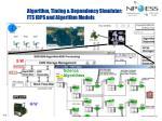 algorithm timing dependency simulator fts idps and algorithm models