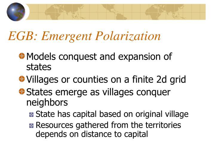 EGB: Emergent Polarization
