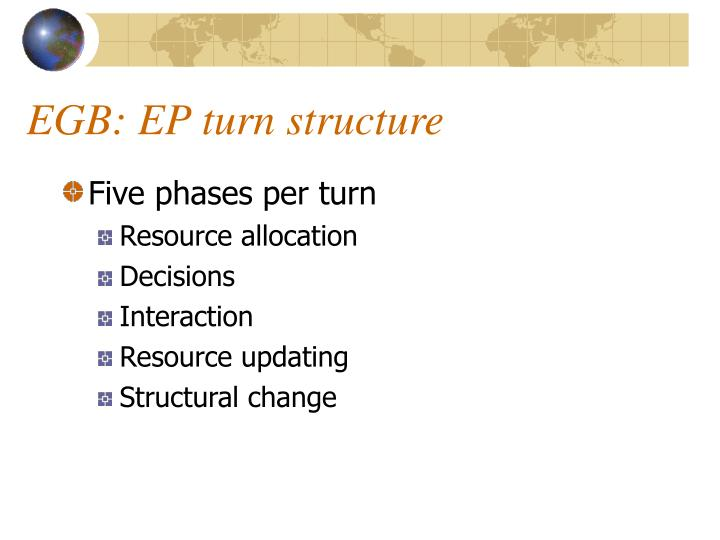 EGB: EP turn structure