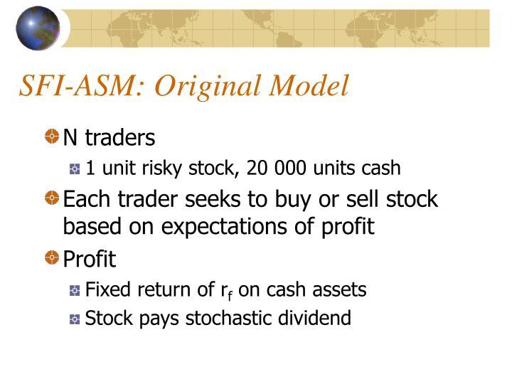 SFI-ASM: Original Model