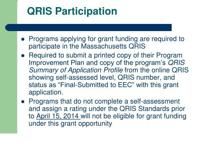 QRIS Participation