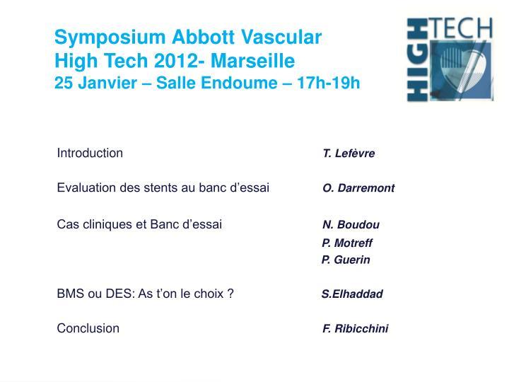 Symposium Abbott Vascular