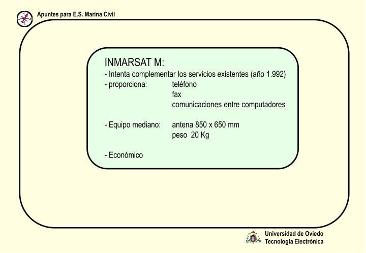 INMARSAT M:
