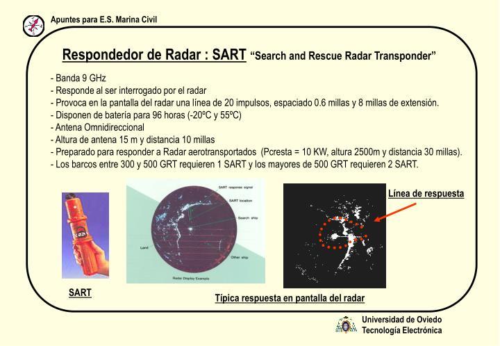 Respondedor de Radar : SART