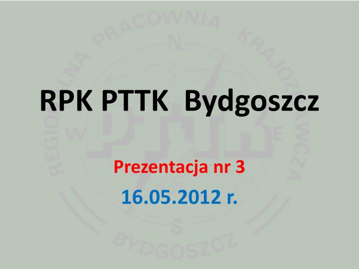 RPK PTTK  Bydgoszcz
