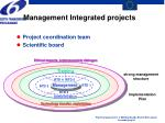 management integrated projects