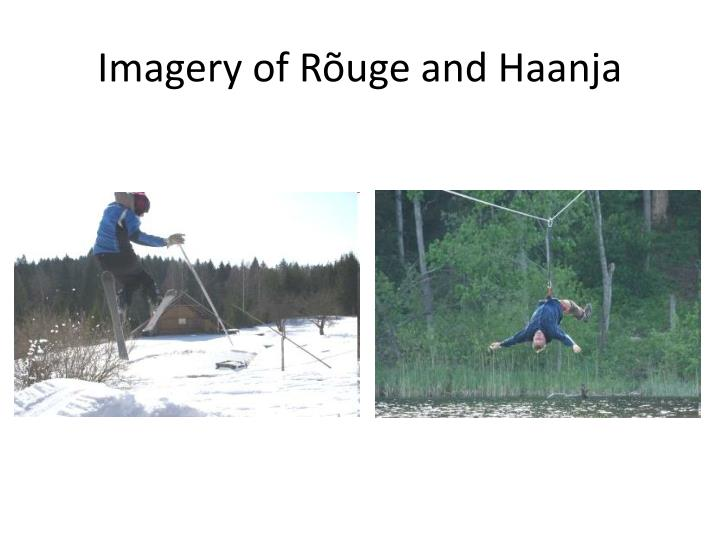 Imagery of Rõuge and Haanja
