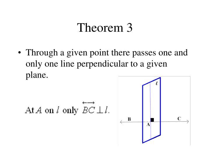 Theorem 3