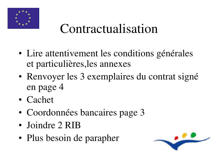 Contractualisation