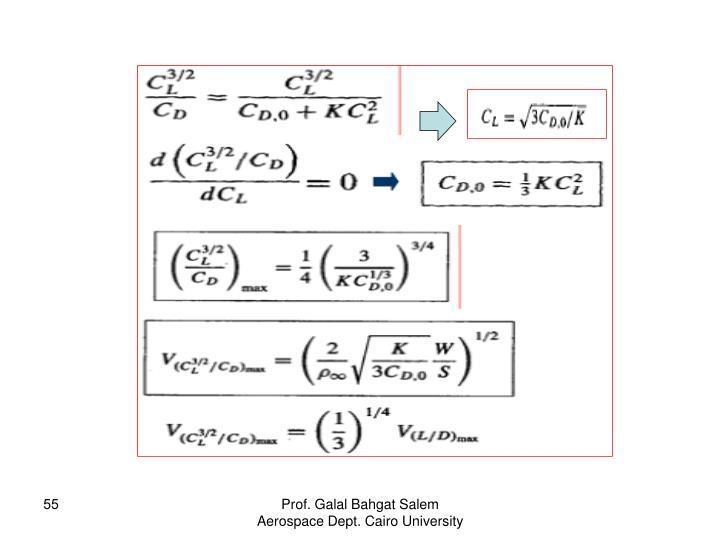 Prof. Galal Bahgat Salem Aerospace Dept. Cairo University
