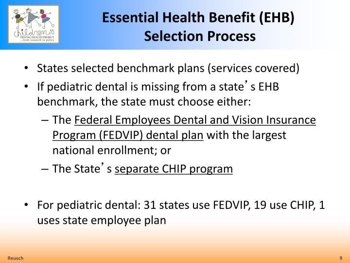 Essential Health Benefit (EHB)