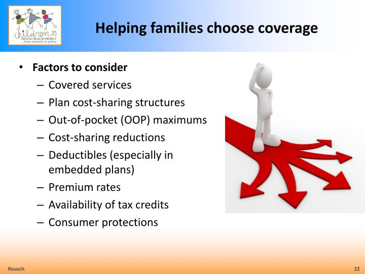 Helping families choose coverage