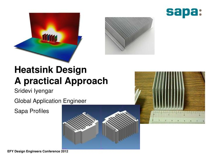 Heatsink design a practical approach
