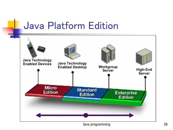 Java Platform Edition