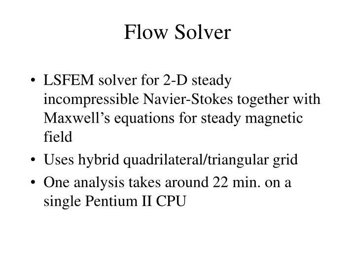 Flow Solver