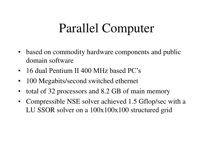 Parallel Computer
