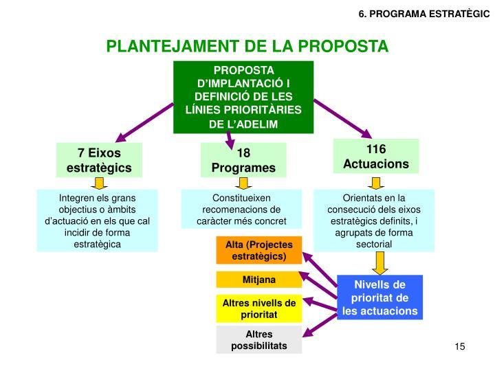 6. PROGRAMA ESTRATÈGIC