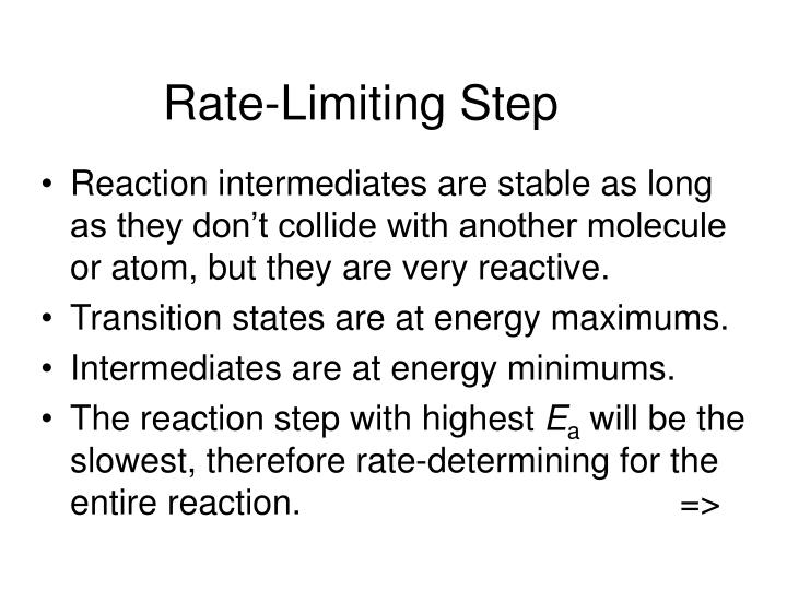 Rate-Limiting Step