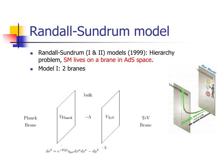 Randall-Sundrum model