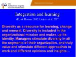 integration and learning ely thomas 2002 luijters et al 2007