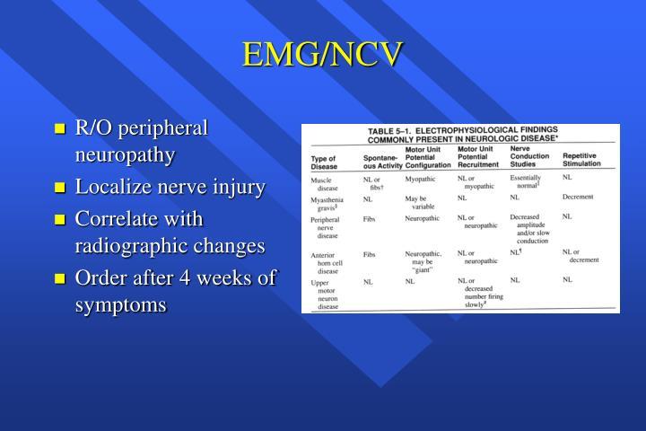 EMG/NCV