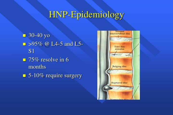 HNP-Epidemiology