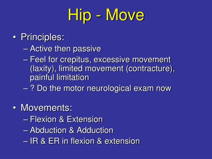 Hip - Move