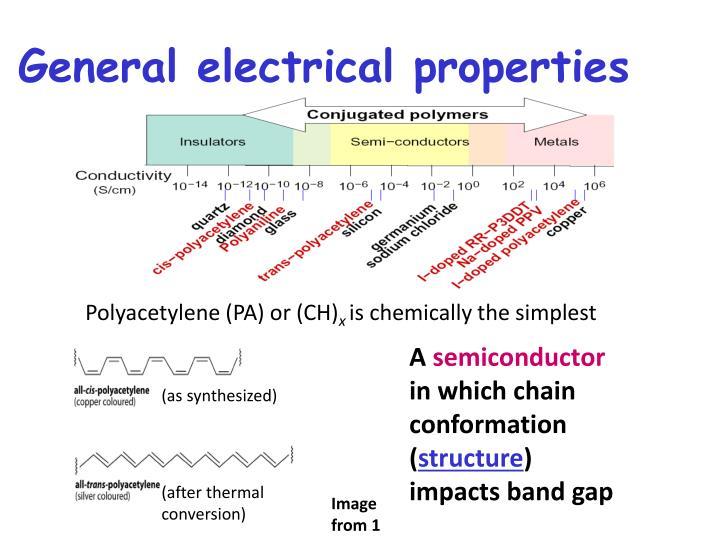 General electrical properties