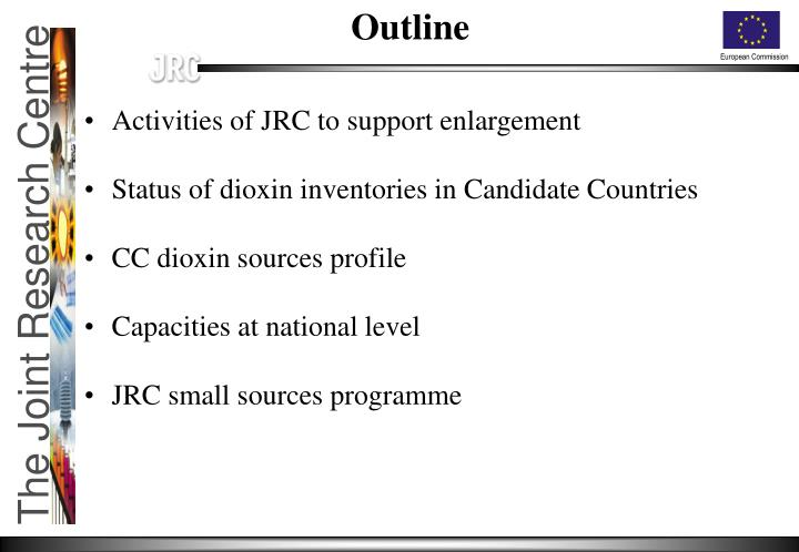 Activities of JRC to support enlargement