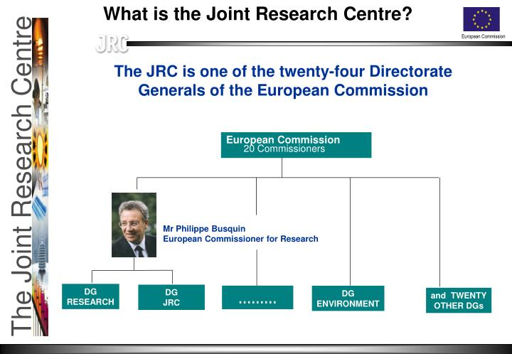 What is the Joint Research Centre?